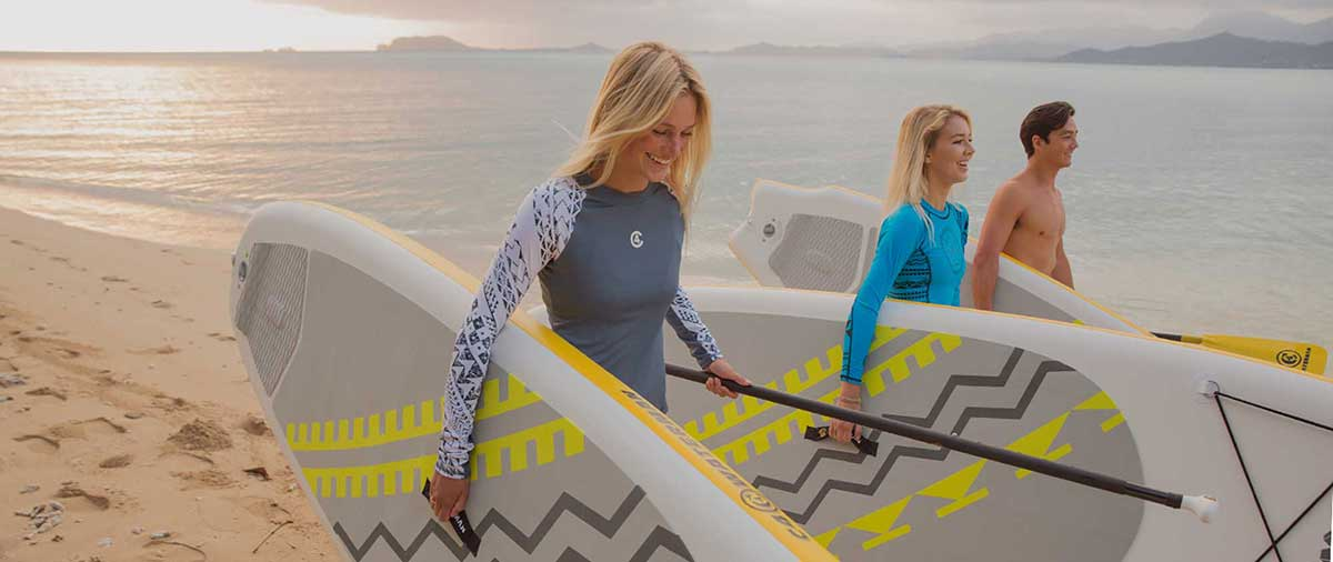 C4 Waterman Stand up paddle boards & inflatable paddle boards